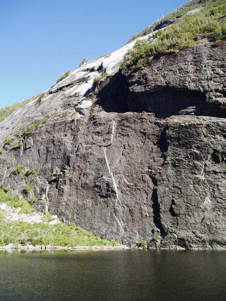 Rock Climbing Photo: CA Flake (pre-Irene)