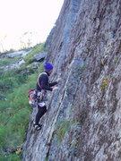 Rock Climbing Photo: M.M. starting CA Flake