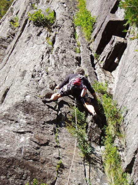 Rock Climbing Photo: Photo 2  M.M. on Chalk-Up