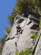 Rock Climbing Photo: Photo 6 nearing the top