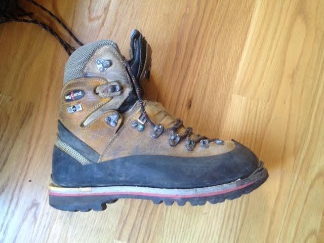 Rock Climbing Photo: Keyland boots
