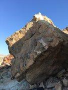 Rock Climbing Photo: South facing slab face of Butter Block.