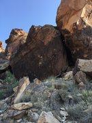Rock Climbing Photo: Prison Break Block's main face.