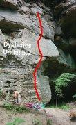 Dyslexics Untie! Route line