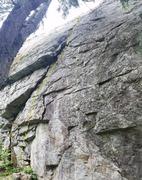 Rock Climbing Photo: Fredrick. Q'Emilin Park, ID.