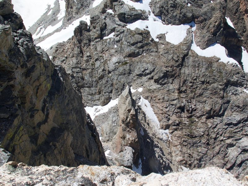 Rock Climbing Photo: Red Sentinel as seen from Disappointment Peak
