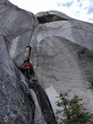 Rock Climbing Photo: Awesome climb! Be prepared to fight early.