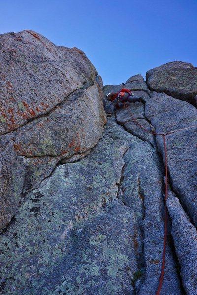 Rock Climbing Photo: South Buttress of Pingora
