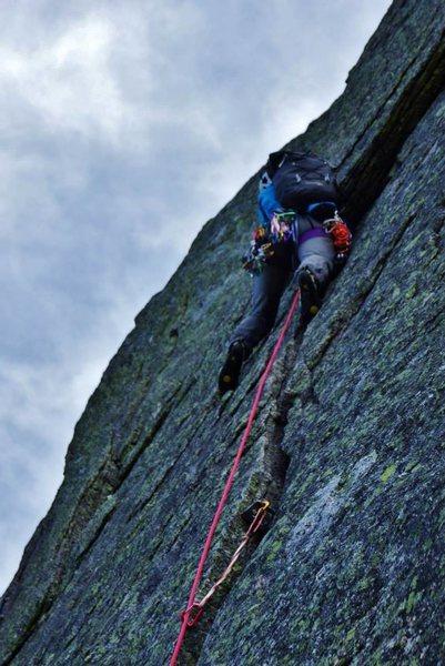 Rock Climbing Photo: The Armadillo, Katahdin
