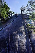 Rock Climbing Photo: Karen's Math on a lovely Squamish day