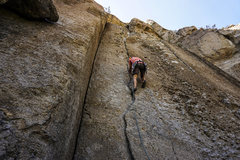 Rock Climbing Photo: Jonny on Chop Chop. 6/21/16.