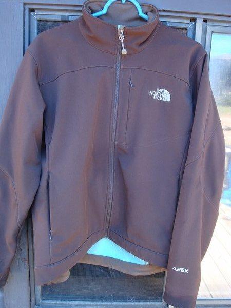 TNF Soft Shell Apex Jacket.
