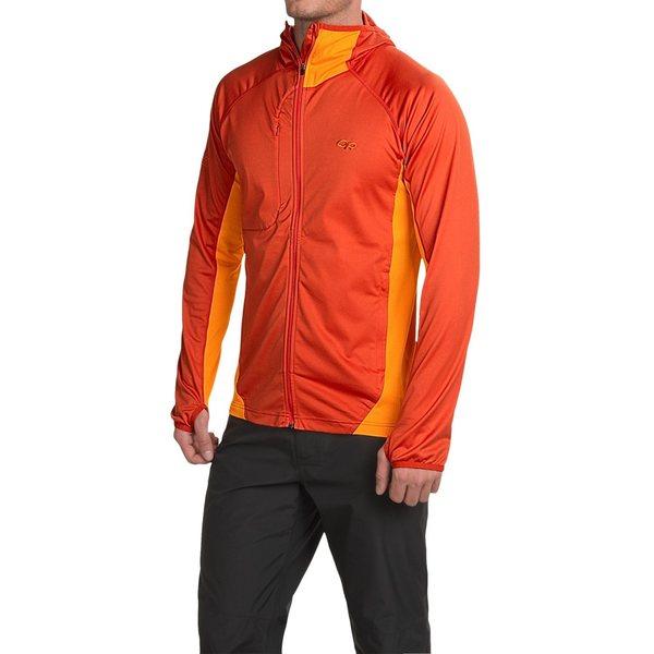 Rock Climbing Photo: FS: or centrifuge jacket orange medium