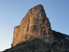 Rock Climbing Photo: South Ridge on the right skyline