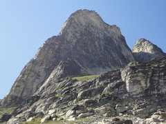 Rock Climbing Photo: south ridge in profile on descent