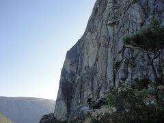 Rock Climbing Photo: Side view of Corrugation Corner