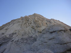 Rock Climbing Photo: looking up at the start of Matthes Crest traverse....