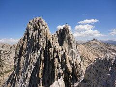 Rock Climbing Photo: Great exposure all around