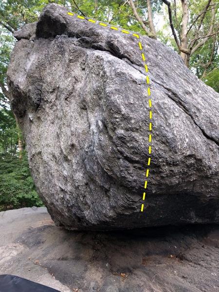 "Rock Climbing Photo: ""Rock and Roll"" (V1)."