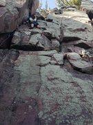 Rock Climbing Photo: Box canyon crack