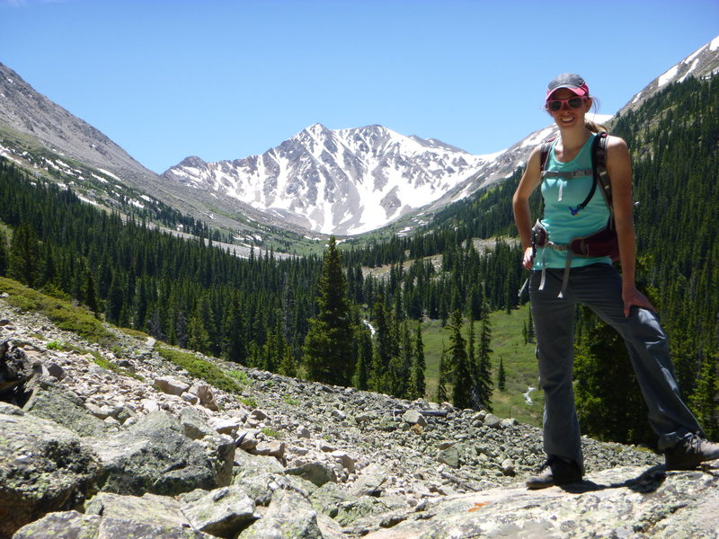 Rock Climbing Photo: On the hike down from La Plata Peak