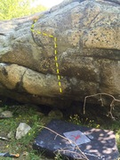 Rock Climbing Photo: Dirty Fingers.