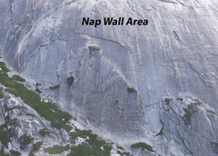 Rock Climbing Photo: Aerial of Nap wall