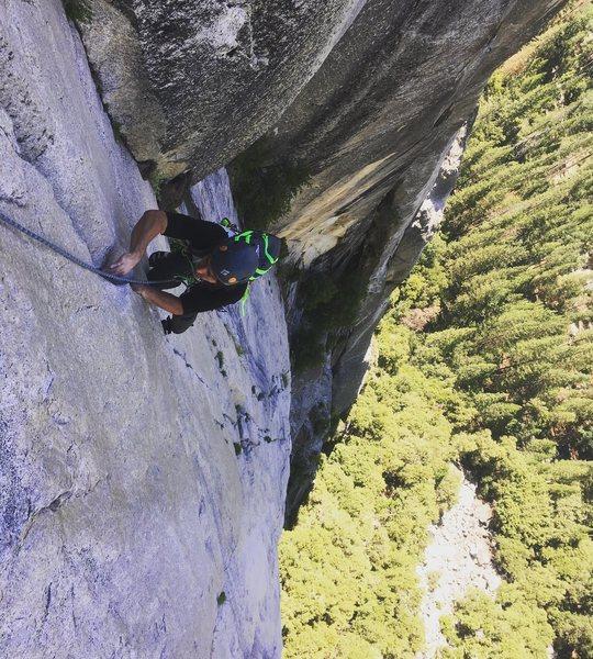 Rock Climbing Photo: 5.9 fingers!