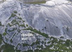 Rock Climbing Photo: October Wall