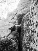 Rock Climbing Photo: High on the IB!!!!