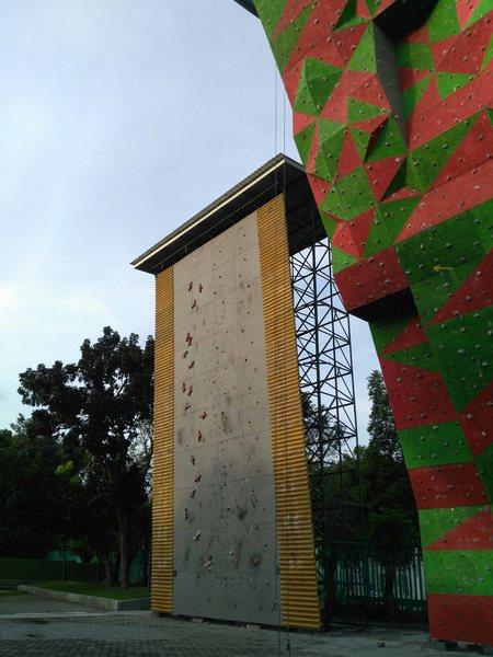 Rock Climbing Photo: Artificial wall 1