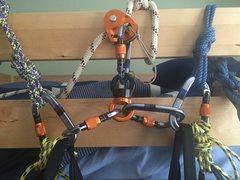 Rock Climbing Photo: Original Haul Bag Setup II - Simulated Docking usi...