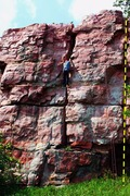 Rock Climbing Photo: table rock buttress Thumbnail direct starts in the...