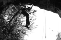 Rock Climbing Photo: a creative look at the start to Thumbnail direct.
