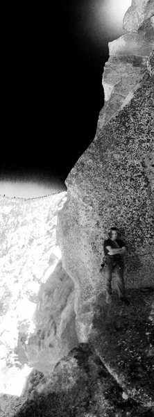 Rock Climbing Photo: Astral Projected through time & space inThe Eye of...