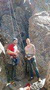 Rock Climbing Photo: Climbing buddy