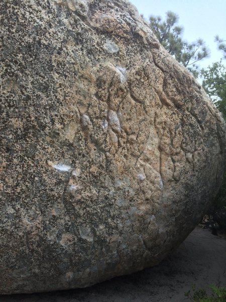 Rock Climbing Photo: crimps