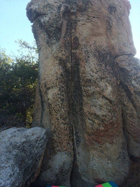 Rock Climbing Photo: Left Crack