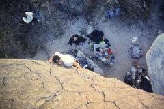 Rock Climbing Photo: climbing in Piedra Partida