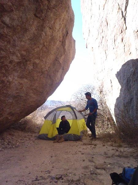 Rock Climbing Photo: Piedra Partida