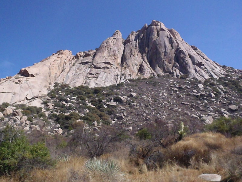 Rock Climbing Photo: Peñon Blanco.
