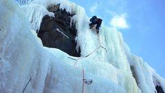 Rock Climbing Photo: Getting the FA.