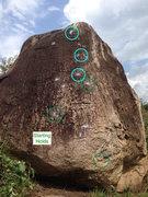 Rock Climbing Photo: Full route guide