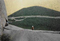 Rock Climbing Photo: Mark S below the last Pitch