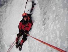 Rock Climbing Photo: Belay Below the Crux