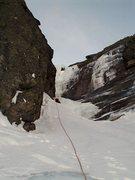 Rock Climbing Photo: Nearing the Crux Pete Anania
