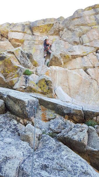 Rock Climbing Photo: Jolly Rancher.