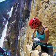 Rock Climbing Photo: Swappin Gear
