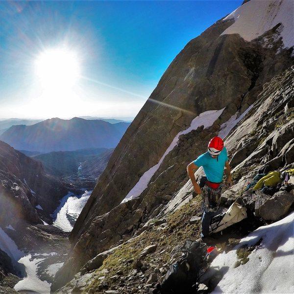 Rock Climbing Photo: Rackin up!
