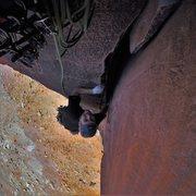 Rock Climbing Photo: Primrose Dihedrals, Moses, Canyonlands